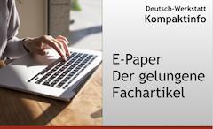 E-Paper Der gelungene Fachartikel