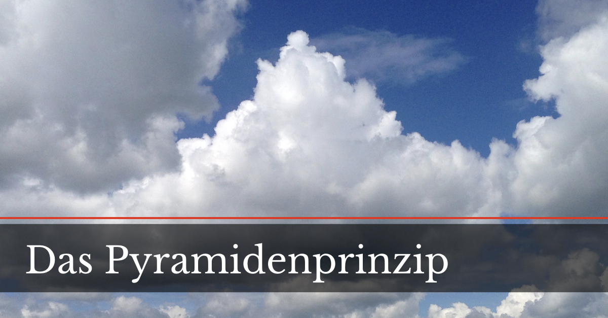 Pyramidenprinzip